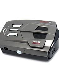 на двух языках автомобиль радар-детектор анти лазерной сигнализации России / английский голос с регулятором скорости v9