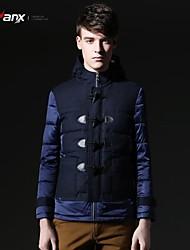 Genanx®Men' Fashional  Thick Hoodies Down Jacket Y041