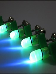 5pcs feux de cloche de pêche fixés Flashlight