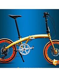 cyrusher 20 en mini vélo pliant vélo Shimano 7 vitesses visite de la ville vélo pour noël cadeaux