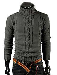 Fashion  Causal Turtle Neck Sweater Coat