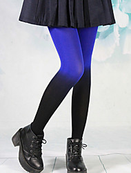 azul chica punk&terciopelo aislado negro medias de lolita gótica