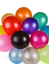 100pcs alta calidad globo engrosamiento helio látex multicolor perla para la fiesta de cumpleaños de la boda
