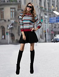 Women's Fashion Slim  Suit  (Sweater & Skirt)