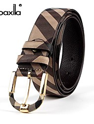 Doaxila® Men'S Fashion Beautiful Case Grain Head Layer Cowhide Belt