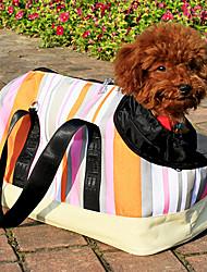 bolso de la raya mascota portátil con muchos bolsillos para perros y gatos