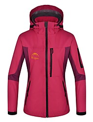 Women's 3-in-1 Jackets / Woman's Jacket / Winter Jacket Skiing / Camping / HikingWaterproof / Thermal / Warm / Windproof / Fleece Lining