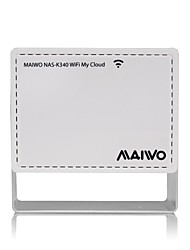 MAIWO NAS-K340 WiFi Storage Wireless Network External Hard Disk Case Enclosure