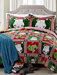 Flora Pattern Polyester Santa Claus More needles Quilting Set,Set of 3