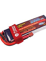 Kudian RC Battery 45C 3300mAh T Plug 4S