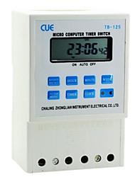 """tb-125 interruttore a tempo da 1,8 """"micro computer lcd (110v 50hz)"""