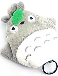 Tonari no Totoro cinza cosplay peludo saco chave bonito