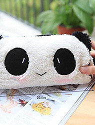 Cute Panda Soft Plush Pencil Case Pen Pocket Cosmetic Makeup Bag Pouch Wedding Baby Shower   Return Gift Present Favors