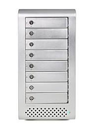 "MAIWO K8FU3E Aluminum alloy 2.5""/3.5"" SATA External Hard Drive Enclosure"