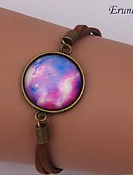 galáxia muito pulseiras lua cósmica de moda femininos artesanais