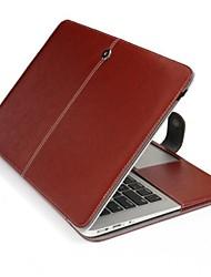 Премиум PU кожаный чехол чехол сумка для Apple MacBook Pro 15,4 дюйма