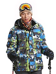 Men's Comfortable Fashional Thermal Thick Waterproof Skiing Jackets