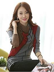 de coco zhang mujeres de toda la camisa de la base del estilo coreano juego