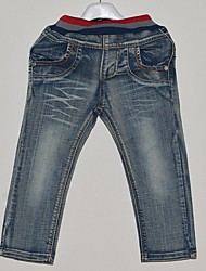 Boy's Slim Fashion Long Jeans