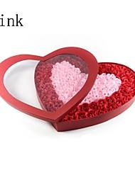 dia de sabão em forma de coração dos namorados aumentou 100 unidades (mais cores)