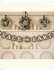 """Paz na terra"" festival bandeira da festa de natal"