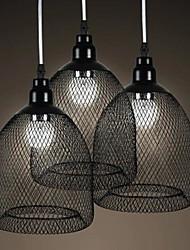 Black Net Single Pendant Light