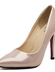 Scarpe Donna - Scarpe col tacco - Formale - Tacchi / A punta - A stiletto - Vernice - Nero / Beige / Borgogna