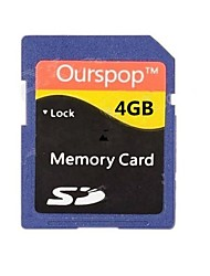 Ourspop DM-24 4GB Calss 6 SD Memory Card