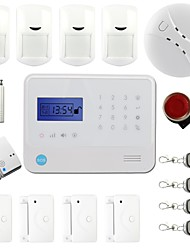 Home Automation Wireless GSM House Anti-Theft Security Alarm System GS-G90E