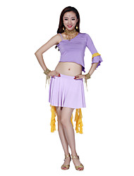 Belly Dance Dancewear Women's Lovely Chinlon&Tulle&Cotton Skirts(More Colors)