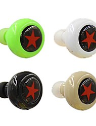 Bluetooth V3.0 In-Ear Stereo  Headphone With MIC  for 6/5/5S Samsung S4/5 HTC LG and Others