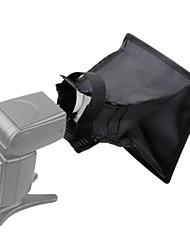 (17 x25cm) dobrável softbox luz modificador para on - câmara
