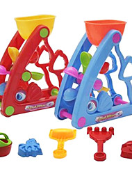 Waterwheel Beach Water Toys(6PCS,Random Color)