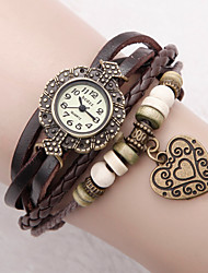 Women's Watch Bohemian Flower Dial Bracelet Cool Watches Unique Watches Fashion Watch
