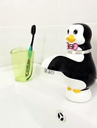 belle pingouin de bande dessinée un trou poignée seul robinet céramique