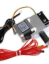 Hot Assembled JIETAI GT7S Extruder GT042 for RepRap Prusa Mendel Stepper Motor 0.3mm Nozzle1.75mm Filament Support