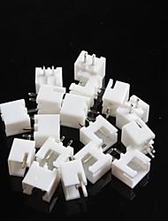 espacement de connecteur xh2.54-2p 2,54 mm (20 pcs)