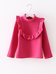 Girl's Cotton Blouse , Winter/Spring/Fall
