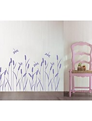 Reed flowers  Wall Stickers