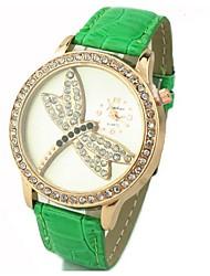 c&c unisex de quartzo ocasional relógio pu