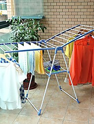 BYN Stainless Steel Collapsible Clothing Rack,132*51*87cm