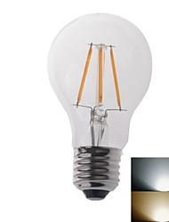 4W E26/E27 Ampoules Globe LED 1 COB 550 lm Blanc Chaud / Blanc Froid AC 100-240 V 2 pièces