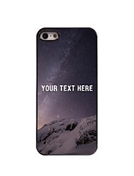 Personalized Phone Case - Desert Design Metal Case for iPhone 5/5S