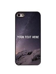 персонализированные телефон случае - пустыня дизайн корпуса металл для iPhone 5/5 секунд