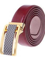 Men Buckle/Waist Belt , Work/Casual Alloy/Leather