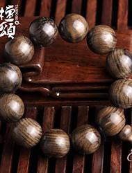 tanson®edge из дерева liuxiang Фиби стороны строки четки браслет 20мм 18мм темного дерева карбонизированного дерева