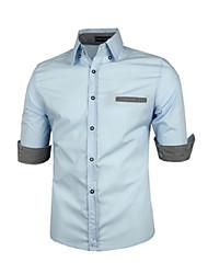 johnny col montant de la mode moitié manches Tee-shirts pour hommes