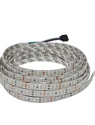 Z®ZDM 5M 300x5050 SMD RGB Waterproof LED Flexible Strip DC12V+24Keys IR Controller