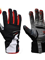 Sports Gloves Cycling Gloves / Ski Gloves Bike Full-finger Gloves / Winter Gloves Men'sAnti-skidding / Keep Warm / Waterproof / Windproof