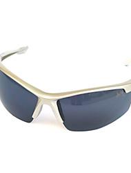 Óculos de Sol Homens / Mulheres / Unissex's Clássico / Esportivo / Fashion Enrole Branco Óculos de Sol Moldura Metade